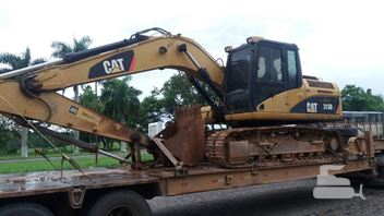 cabine caterpillar 315dl