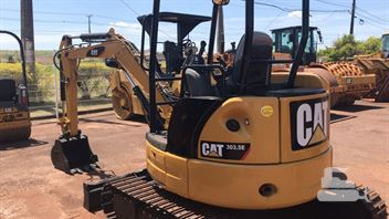 Mini-Escavadeira Caterpillar 303.5E CR