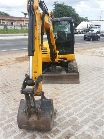 Mini-Escavadeira JCB 8055RTS