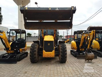 Retro Escavadeira JCB 4CX